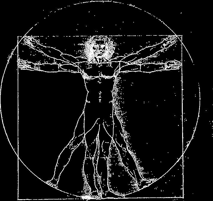 """Витрувианский человек - известнейший рисунок Леонардо да Винчи. Это одна из загадок квеста в реальности """"Тайны Леонардо"""" на Арене Мытищи"""